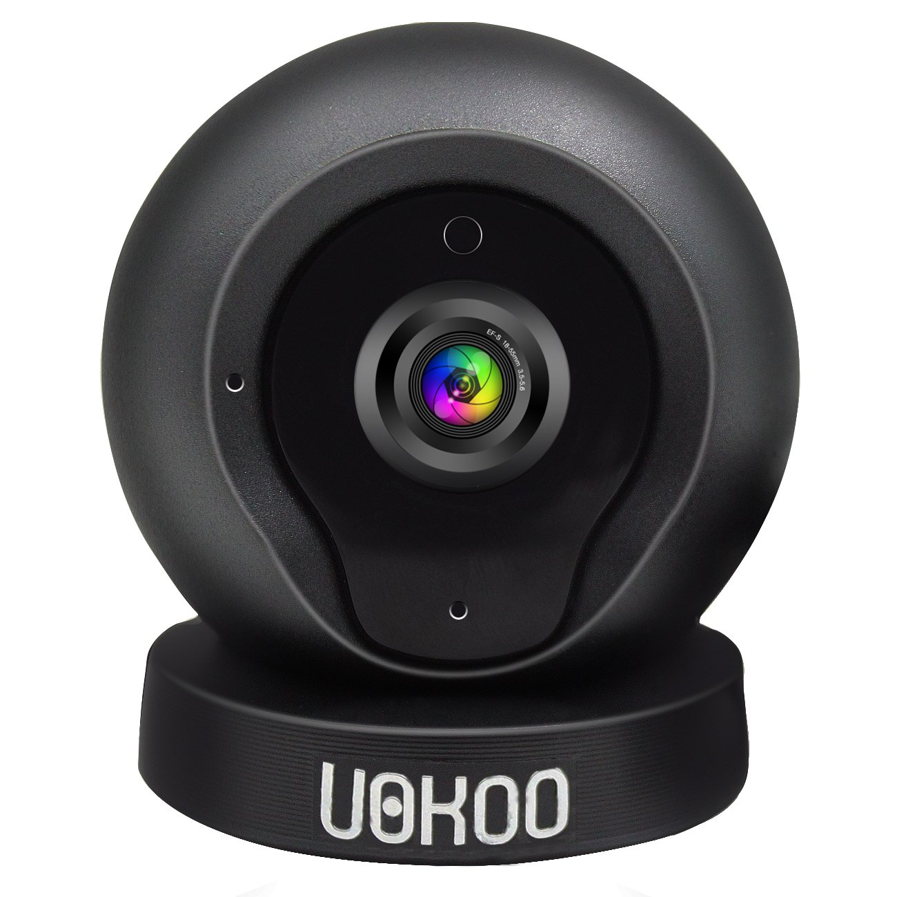 Wireless Security Camera,IP Camera,security camera,UOKOO 720P HD Home WiFi Wireless Security Surveillance Camera with Motion Detection Remote Monitoring Q1 (Black)