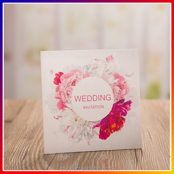 Costomized Handmade Wedding Invitation Card Newest Design Wedding Invitation Card Invitation Cardf Manufacture Buy Customized Handmade Wedding
