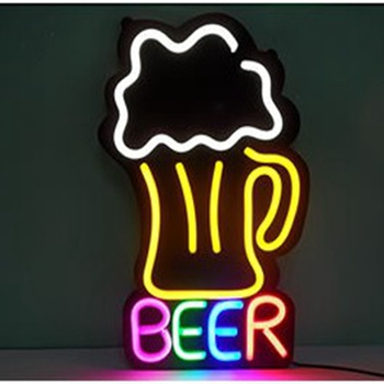 Good Selling Outdoor Led Beer Shop Bud Light Neon Open Sign/beer Neon Light  Sign
