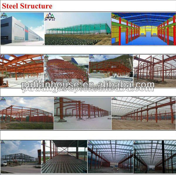 galvanized warehouse structural steel in algeria house plans