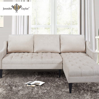 Factory e Piece Moq Living Room Furniture Sectional Sofa Corner