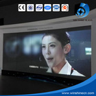 Laminated switchable white smart pdlc glass Self-adhesive Switchable smart PDLC film for projection screen.