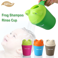 Baby child wash hair eye water scoop bath shampoo rinse cup baby bath rinser perfect baby bathroom toys for shampoo rinse cup