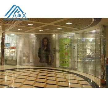 Commerical Crystal Roller Shutter