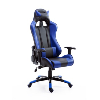 Hot Style PU Leather Executive Racing Gaming Reclining Office Chairs - Red, Blue