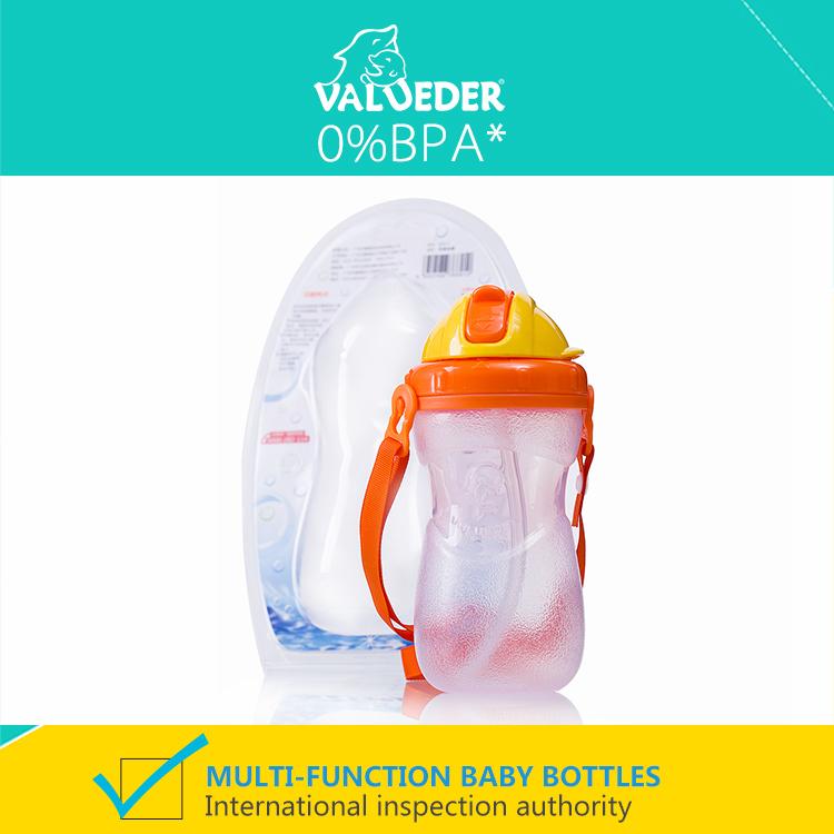 Valueder кормление чаша младенцы фляжка для воды портативная дети в стаканы и бокалы питьевой фляжка для воды для детей