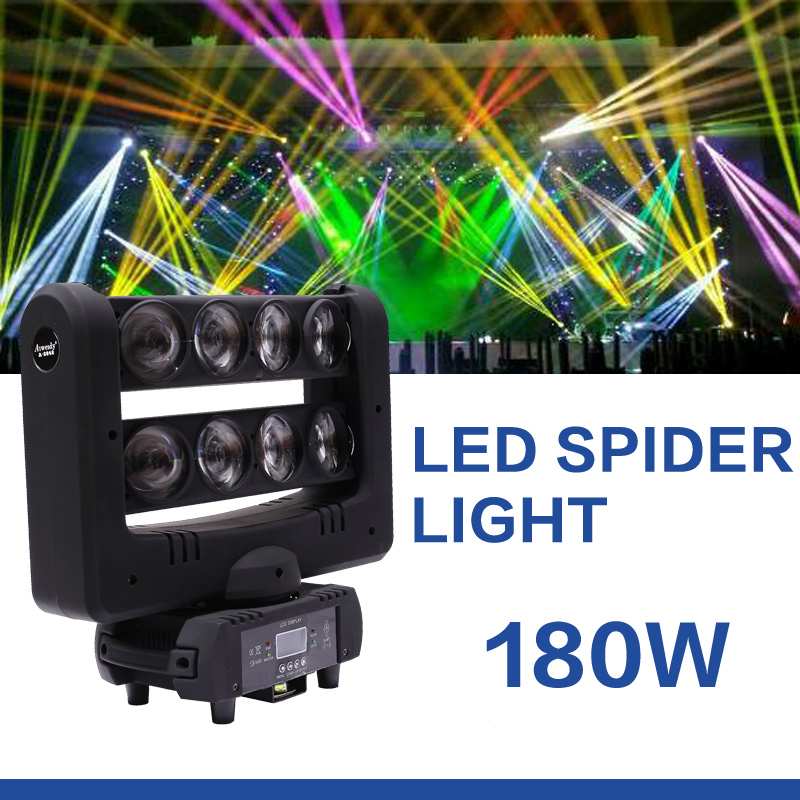 lighting equipment 4in1 cob led grow light colorstage led spider lamp beam moving head spider light