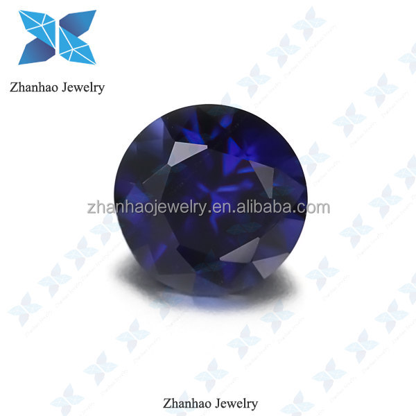 synthetic blue sapphire stone price 34# synthetic corundum