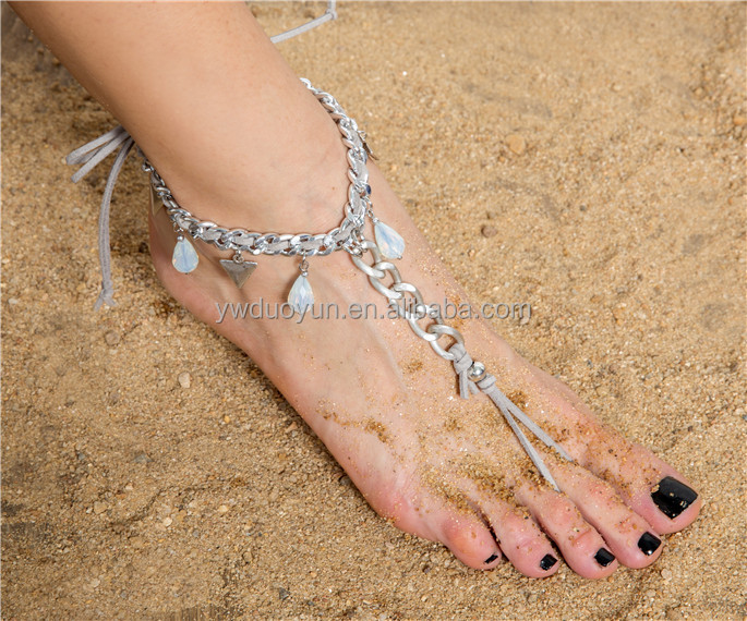 payal design photos sexy anklet with toe ring silver anklets designs