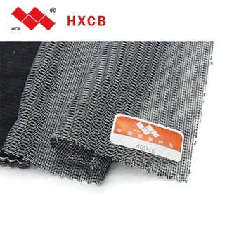 Pes/ Pa Coating 100%Polyester Fusible Water Jet Woven Interlining