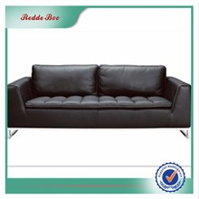 2017 hot sell italy design leather sofa set