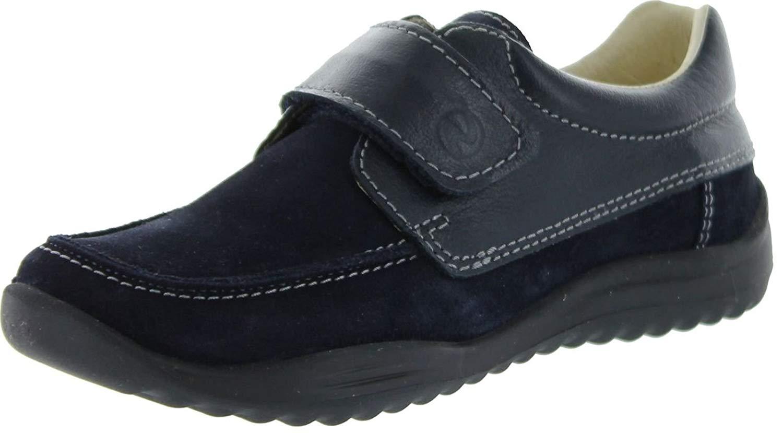 Naturino Boys 246 Casual Booties,Velour Blue,25