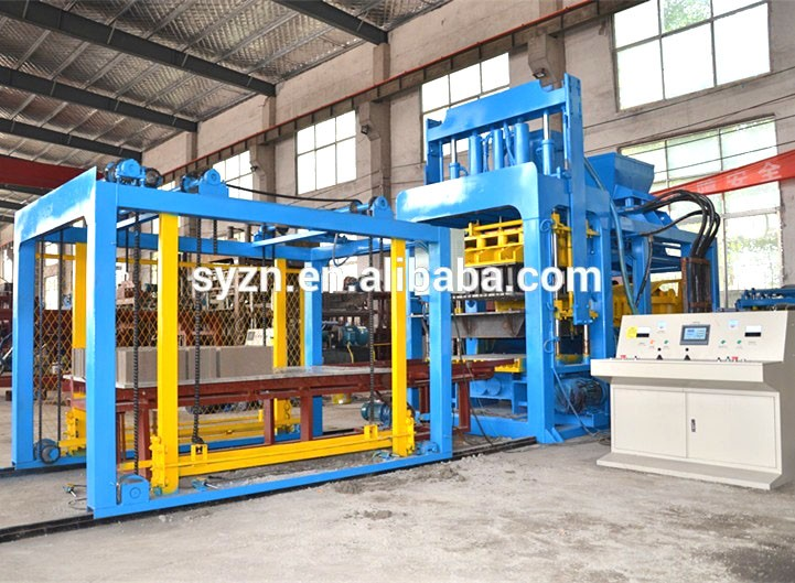 Qt10 15 Hydraulic Concrete Block Moulding Machine Prices