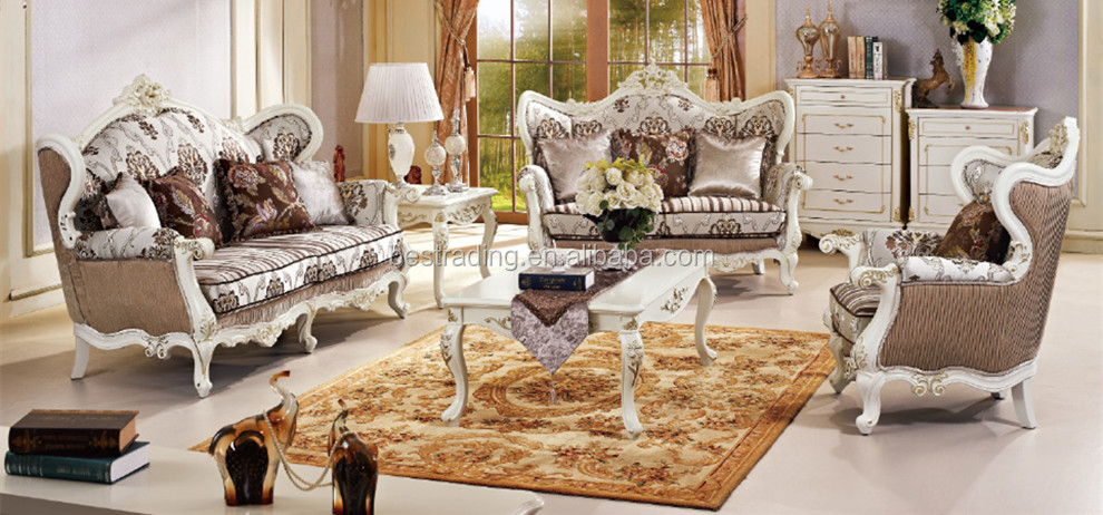 Lovely Luxury Classic European Sofa Set,wooden Carved Sofa Set,luxury Exclusive  Sofas