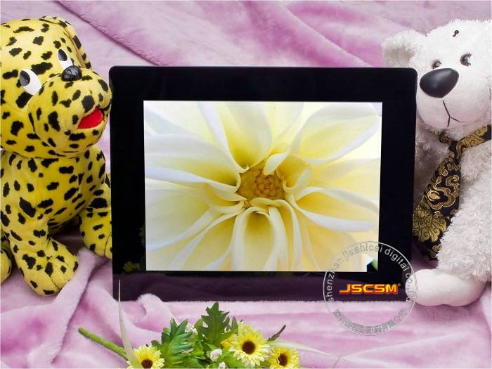 Android system 15 inch WIFI digital photo frame CE&ROHS approved