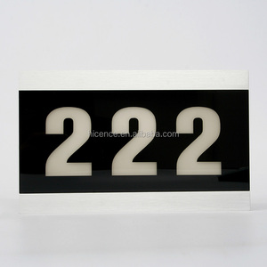 Hotel Digital LED Electronic Room Number Signs
