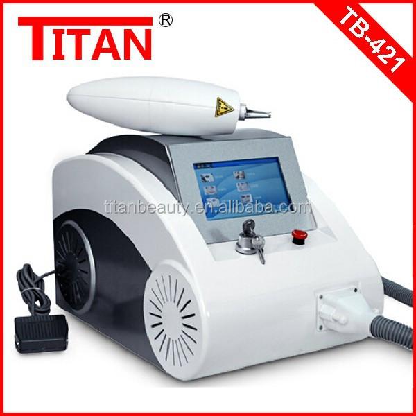 Tb-421 Portable 1064nm&532nm Nd Yag Laser/ipl Laser Tattoo Removal ...
