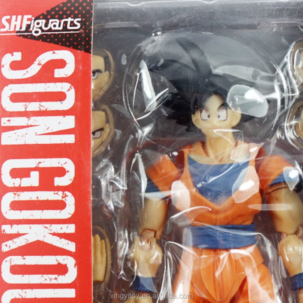 New Anime Dragonball Z DBZ S.H.Figuarts Son Goku Collectible PVC Action Figure