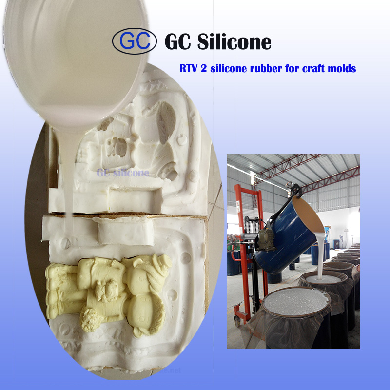 tin cure silicone rubber rtv2 mold making for polyurethane crafts