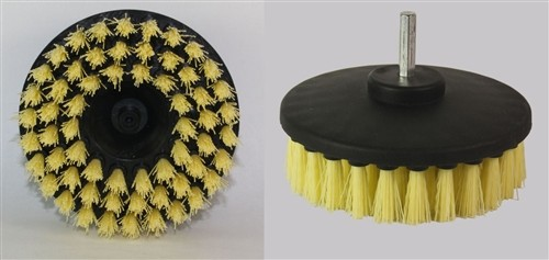 4 inch round nylon drill brush for cleaning