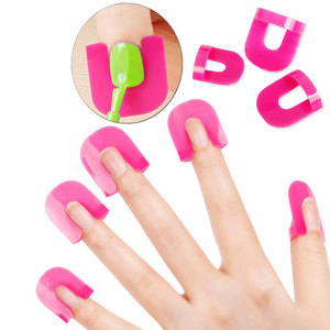 Spot Personal Beauty Care 26pcs nail polish finger protectors