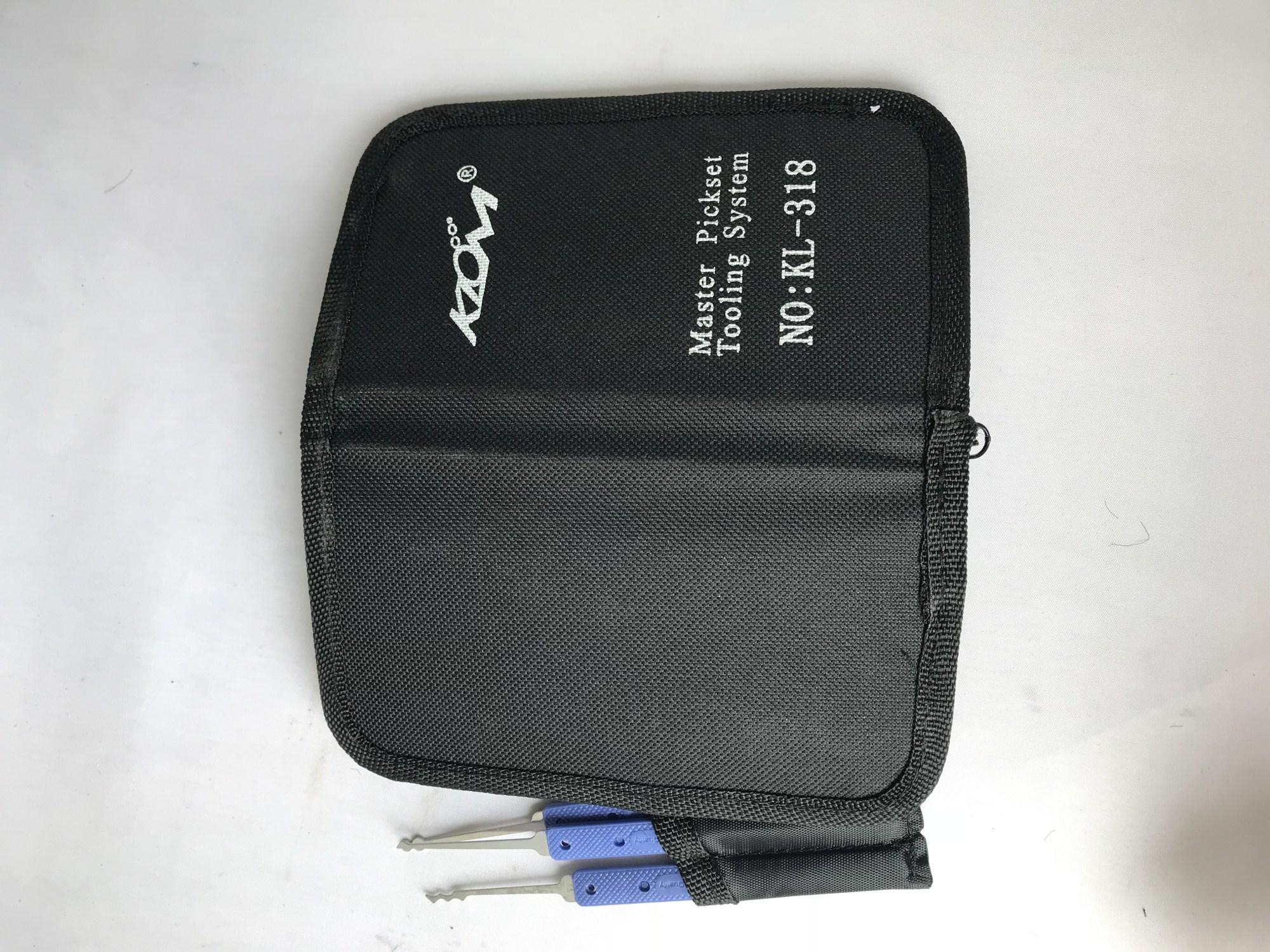 1-190 GOSO LOCKSMITH TOOLS 18PCS KEY TOOL door lock opener locksmith supplies KLOM pick set