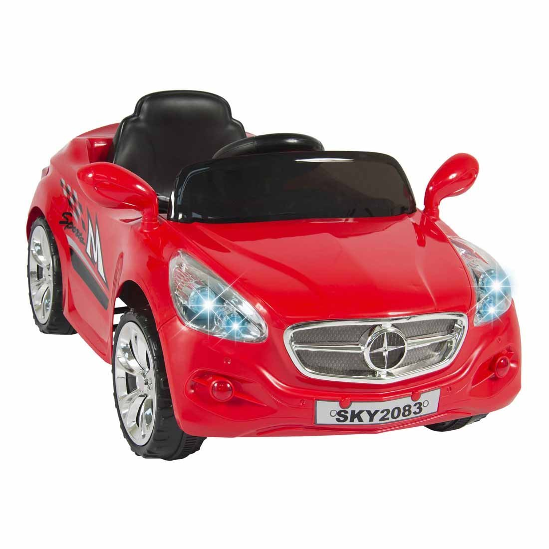 Ride on Car Kids RC Car Remote Control Electric Power Wheels W/ Radio & MP3 Red Buyer's Choice