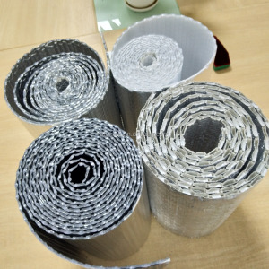 Foil Bubble Cement Wall Heat Insulation