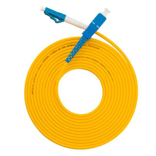 SM SX 2.0mm yellow tube fiber optic patch cord sales