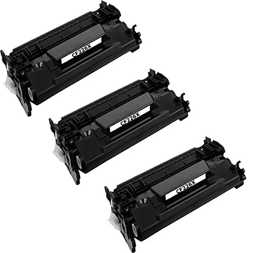 4Benefit Premium HP26X(CF226X) Compatible Toner Cartridge Replacement For Laserjet Pro M402dn(C5F94A), M402dne(C5J91A), M402dw(C5F95A), M402n(C5F93A), ProMFP M426fdn(F6W14A), M426fdw(F6W15A) (3-pack)