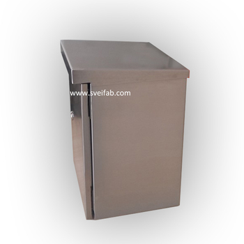 telecom outdoor cabinet Type and IP65 Protection Level weatherproof telecom enclosure
