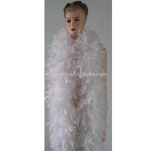 WHITE FEATHER BOA/FASHION SEXY FANCY DRESS DECORATION/OSTRICH FEATHER BOA