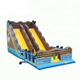 Pirate theme giant inflatable slide top quality dry slide for kids