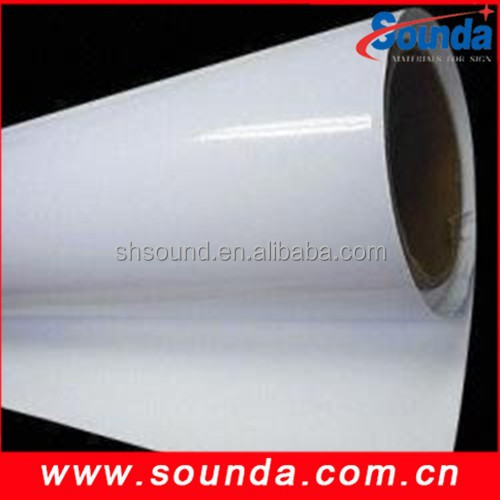 white self adhesive vinyl sticker for screen printing