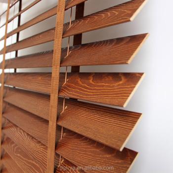 Anleitung Billig Paulownia Holz Fenster Jalousien Komponenten Teil