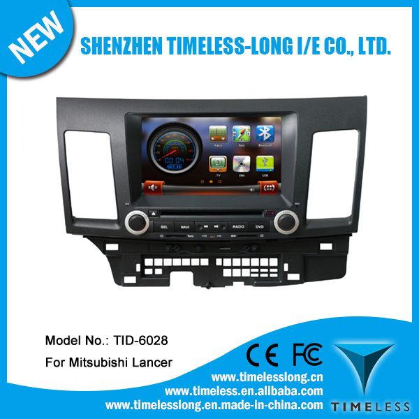 Car GPS Navigation for subishi Lancer after 2008 with GPS bluetooth mp3 player (TID-6028)