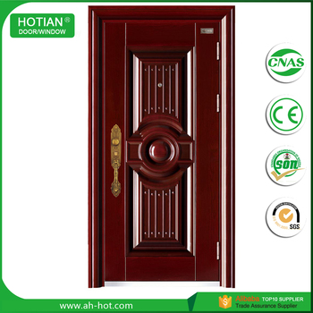 Beautiful Design Steel Security Exterior Door Indian Main Door Designs  Turkish Style Steel Door