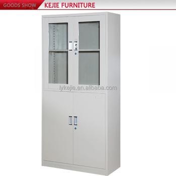 China Steel Cabinet Manufacturer Sliding Glass Door Filing Cabinet