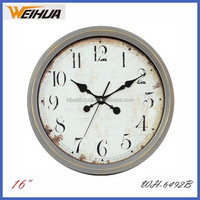 16 inch round arch mantel clocks