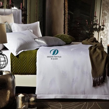 Deeda Factory Good Quality 300tc Hotel Double Bed Sheets Size And Weight