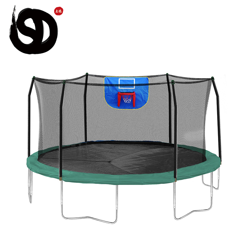 Newest commercial sport trampoline park portable