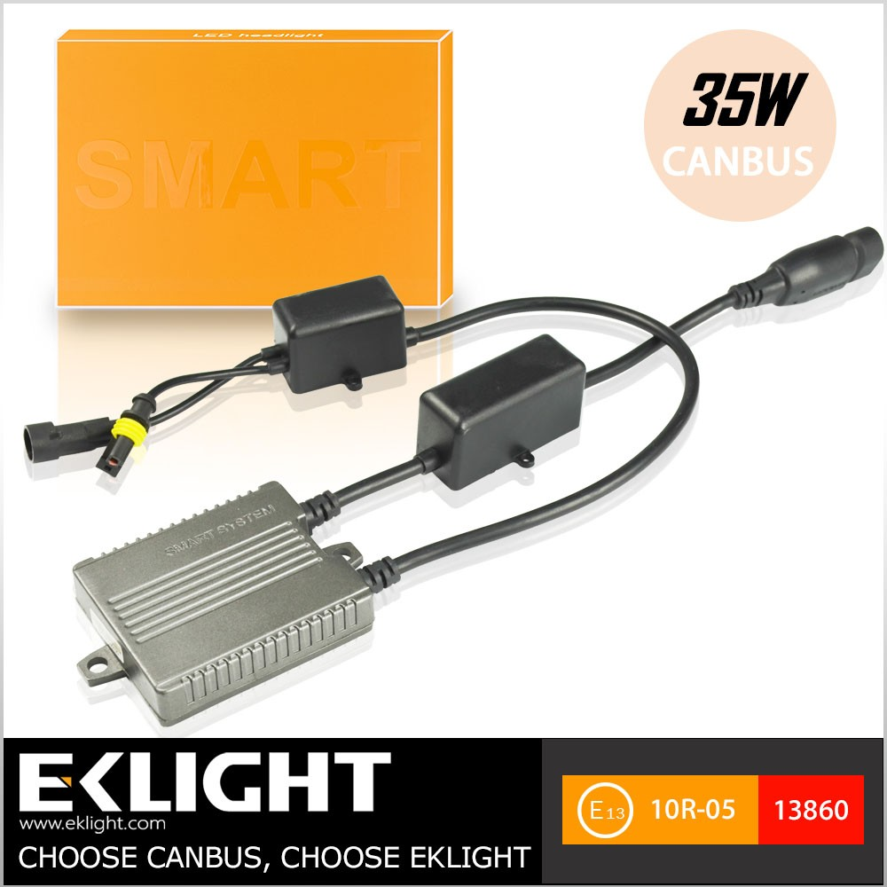 Motorcycle and Car Best HID Strong Canbus T1 Slim Ballast ac 12v 24v 55w h7 Xenon Headlight HID Kit
