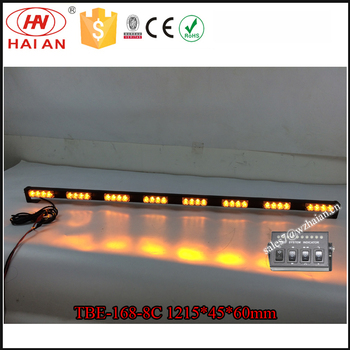 48 inch amber led strip lightbar for big caryellow warning strobe 48 inch amber led strip lightbar for big caryellow warning strobe light bar in aloadofball Image collections