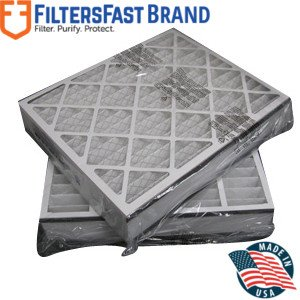 """FiltersFast Compatible Replacement for Trion MERV 8 Comp. Air Bear Furnace Filter 2-Pack 20"""" x 20"""" x 5"""" (Actual Size: 19 11/16"""" x 20 11/16"""" x 4 7/8"""") 255649-103"""
