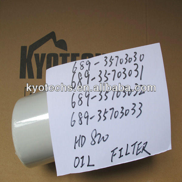 Oil Filter For Hd820 689-35703030 689-35703031 689-35703033 689 ...