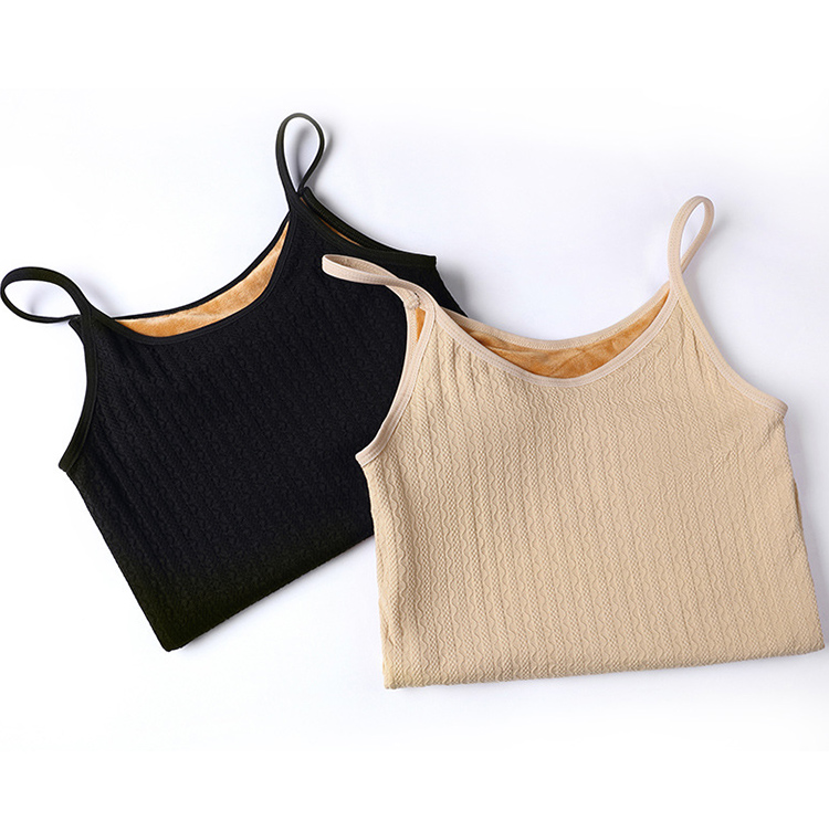 Classic Women's Thick Winter Thermal Underwear Camisole Vest Camisoles For Women Bodyshaper