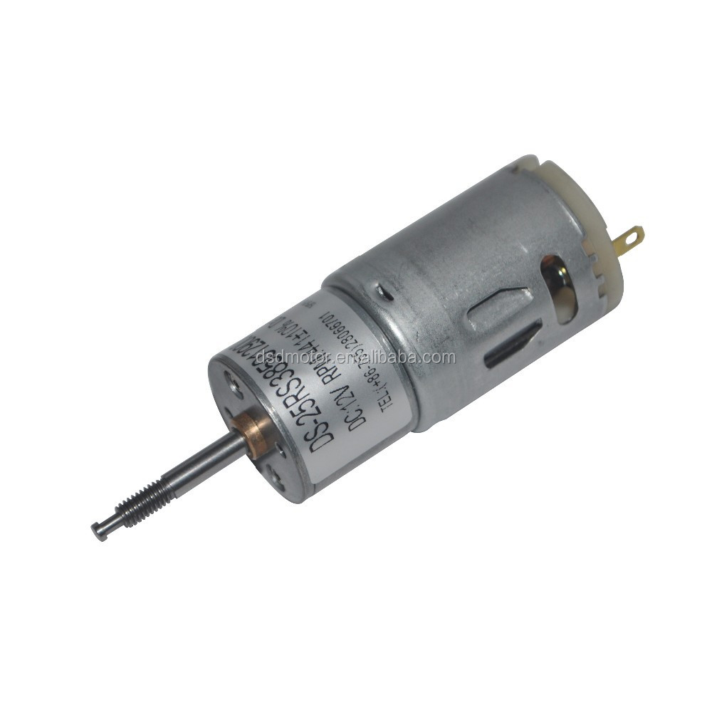 DSD-25RS385 12v dc gear motor for toys,12v dc high torque geared motor,25mm spur gear pm dc motor