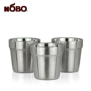 High Quality Korean Style Double-walled Stainless Steel Water Drinking Cup with Customized Printed