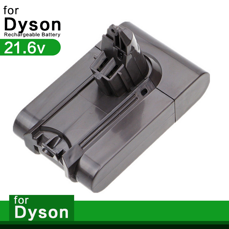 21.6v for Dyson V6 Vacuum Battery Replacement for Dyson DC58 DC61 DC62 DC72 DC74