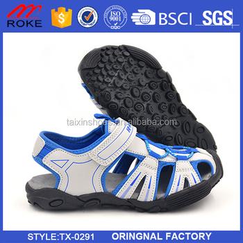91b18457e China latest new design model children kids sandal child kid sandal shoes  summer sport pu tpr